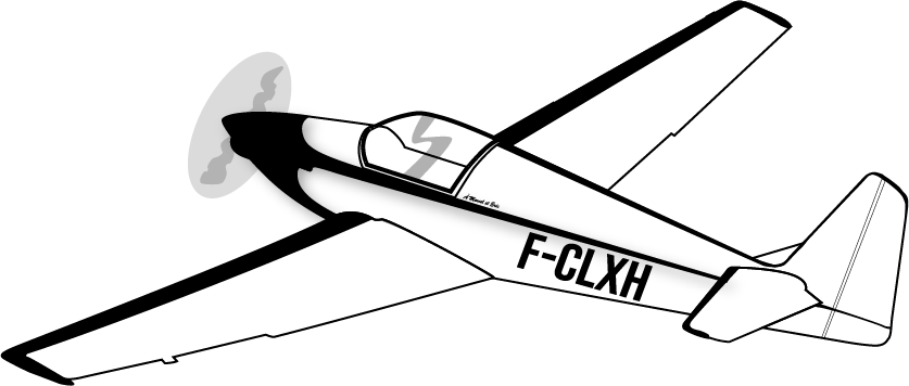 Silhouette avion RF3 Barelli