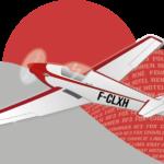 Illustration / Logo : l'avion RF3 de Vincent
